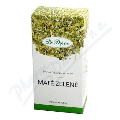 Dr.Popov Čaj Zelené maté 100g