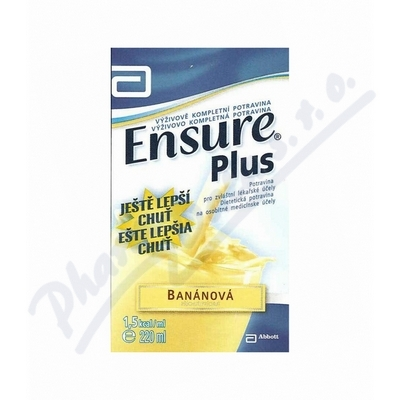 Ensure Plus příchuť banán por.sol.1x220ml