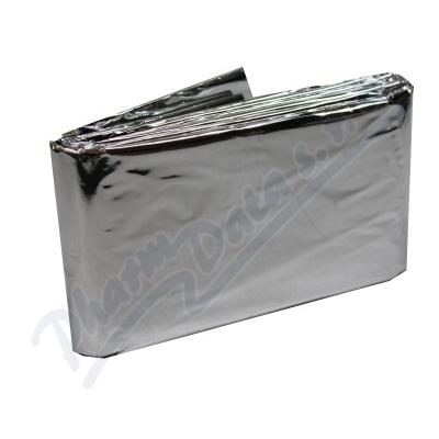 Izotermická fólie stříbrná 140x200cm Steriwund