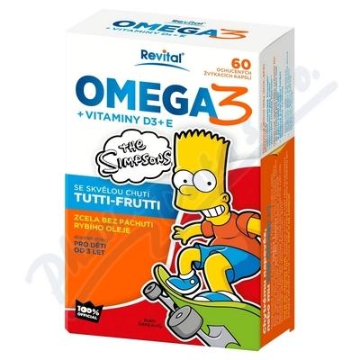 The Simpsons Omega 3+vit.D+vit.E cps.60