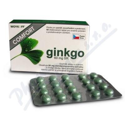 ginkgo COMFORT 60mg SR tbl.60