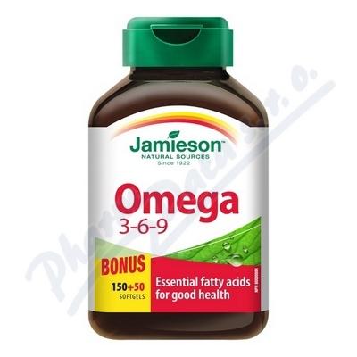 JAMIESON Omega 3-6-9 1200mg cps.150+50