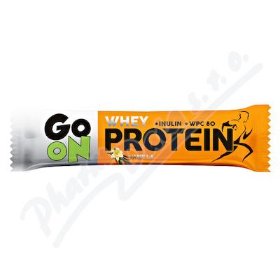 GO ON Proteinová tyčinka s příchutí vanilky 50g