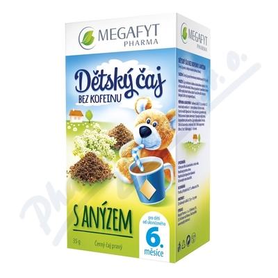 Megafyt Dětský čaj bez kofeinu s anýzem 20x1.75g