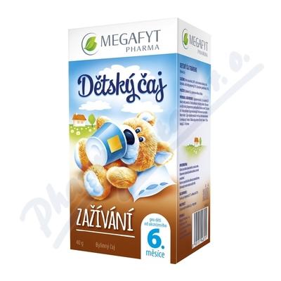 Megafyt Dětský čaj zažívání 20x2g