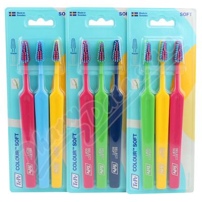 TePe Colour Select soft zubní kartáček 2+1 322283