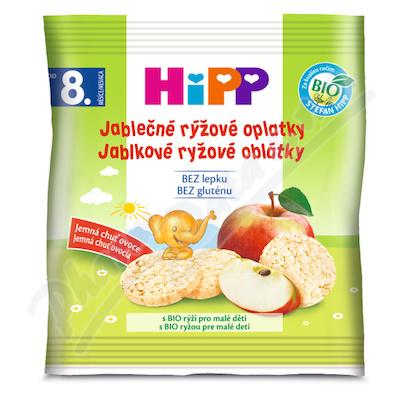 HiPP SUŠENKY BIO Jablečné rýžové oplatky 30g
