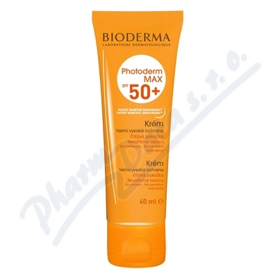 BIODERMA Photoderm MAX krém neutrální SPF50+ 40ml