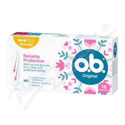 o.b. tampony Original Normal 16ks