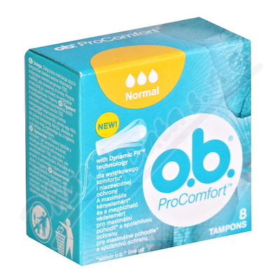 o.b. tampony ProComfort Normal 8 ks