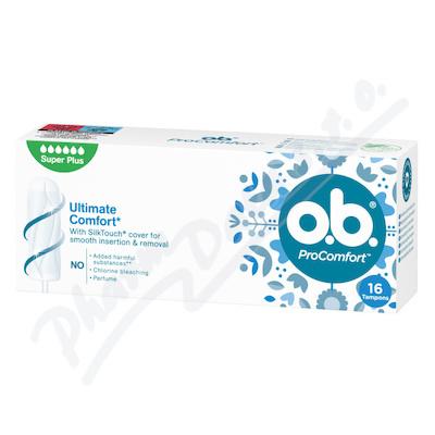o.b. tampony ProComfort Super Plus 16ks