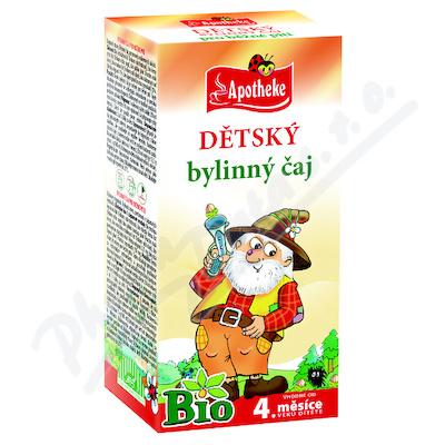 Apotheke Dětský bylinný čaj Bio 20x1.5g