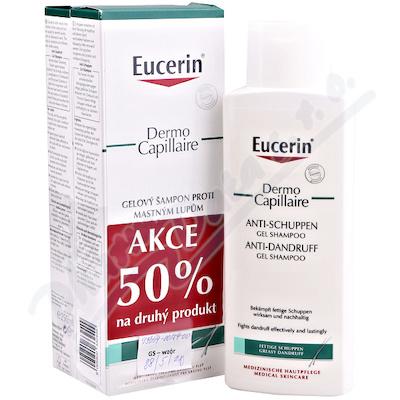 EUCERIN DermoCapil. šampon mast.lupy 250ml promo20