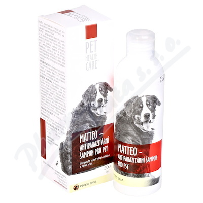 PET HEALTH CARE MATTEO antiparazit šamp.psy 200ml