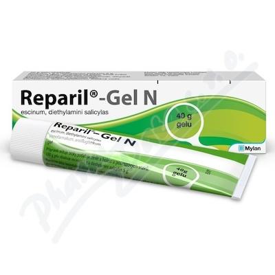 Reparil-Gel N 10mg/g+50mg/g gel 40g I