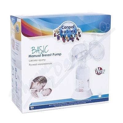CANPOL BABIES Ruční odsávačka mateř. mléka Basic
