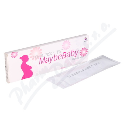 Těhotenský test Maybe Baby Midstream 2v1
