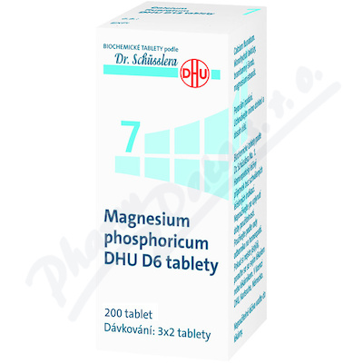 Magnesium phosphoricum DHU tbl.nob.200