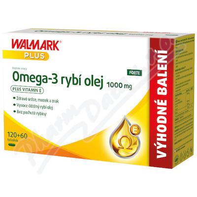 Walmark Omega-3 rybí olej 1000mg tob.120+60
