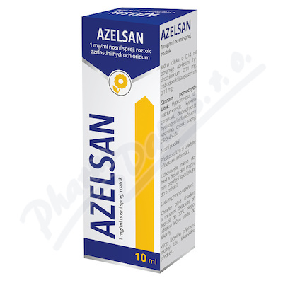 Azelsan 1mg/ml nas.spr.sol. 1x10ml