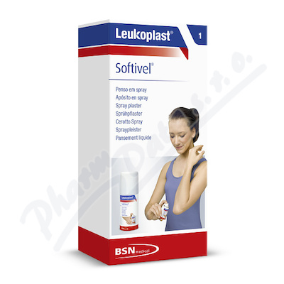 Leukoplast Softivel Spray Plaster náplast 30ml