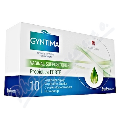 Fytofontana Gyntima vagin.čípky Probio Forte 10ks