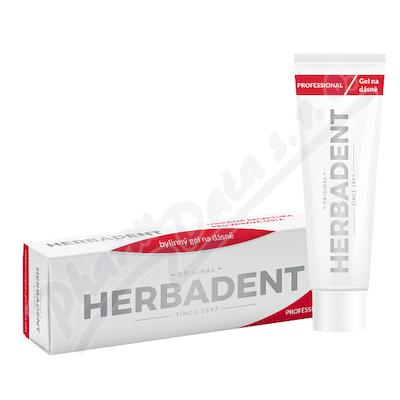 HERBADENT PROFES.bylin.gel na dásně Chlorhex. 25g