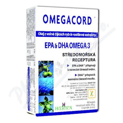 HOLISTICA Omegacord 60 kapslí