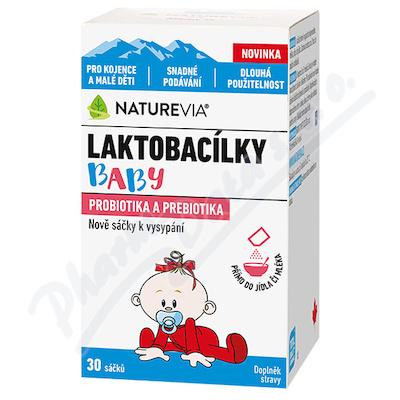NatureVia Laktobacílky baby 30 sáčků