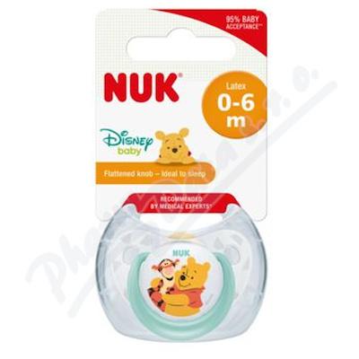 NUK Dudlík DISNEY Med.Pú SI V1(0-6m)1ks BOX 730284
