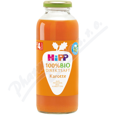 HiPP 100% BIO JUICE Karotková šťáva 330ml