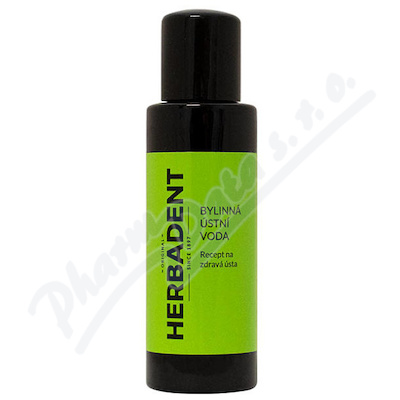 HERBADENT ORIGINAL bylinná ústní voda 100ml