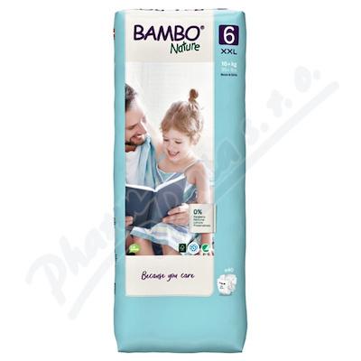 Bambo Nature 6 dětské plenk. kalhotky 16+ kg 40ks
