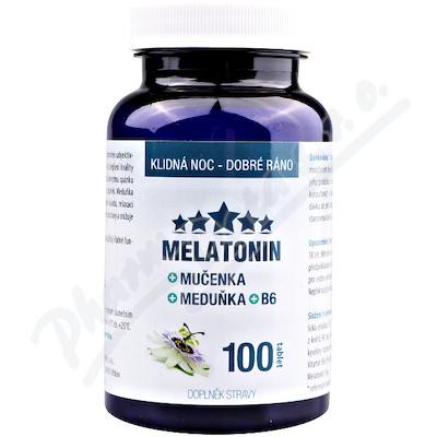 Melatonin Mučenka Meduňka B6 tbl.100 Clinical
