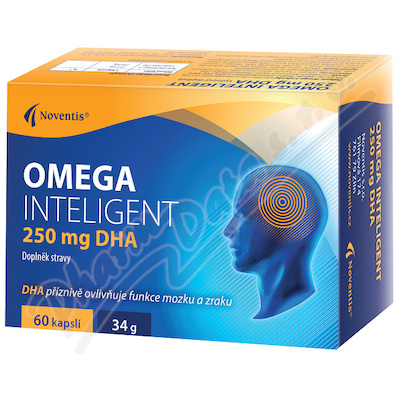 Omega Inteligent 250 mg DHA cps. 60