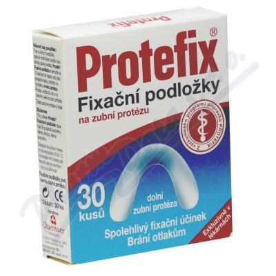 Protefix Fixační podložky - dolní zub.prot.30ks