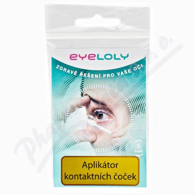 Eyeloly oční tyčinky k aplikaci kontakt.čoček 5ks