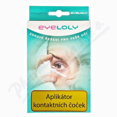Eyeloly oční tyčinky k aplikaci kontakt.čoček 15ks