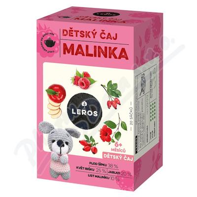 LEROS Dětský čaj Malinka 20x2g