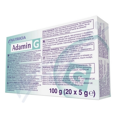 Adamin-G por.sol.20x5g 8332