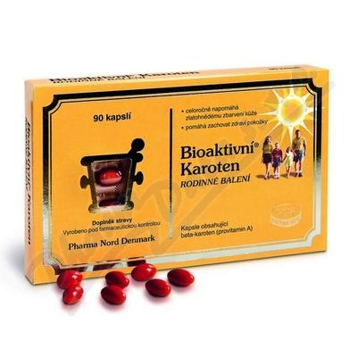 Bioaktivní Karoten rodinné balení cps.90