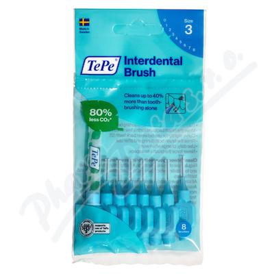 TePe Original mezizub.kart.0.6mm Modré 8ks 133240