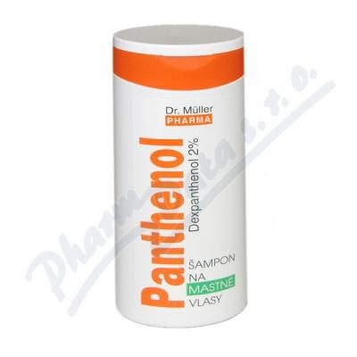 Panthenol šampon na mastné vlasy 250ml Dr.Müller