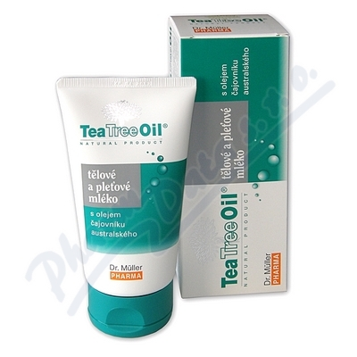 Tea Tree Oil tělové a pleť.mléko 150ml Dr.Müller
