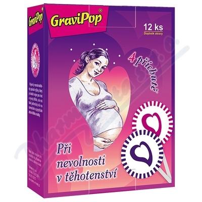 VitaHarmony GraviPop 12ks nevolnost v těhot.mix