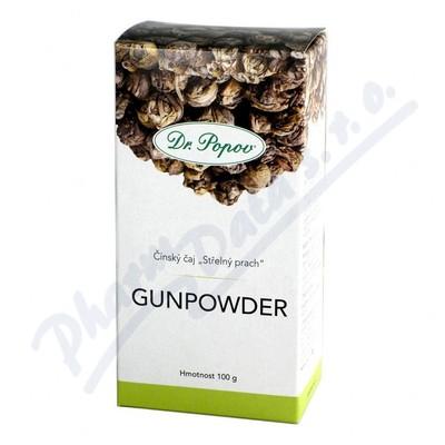 Dr.Popov Čaj Gunpowder zelený 100g
