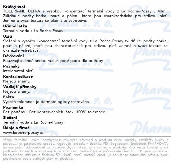 LA ROCHE-POSAY TOLERIANE Ultra krém 40ml