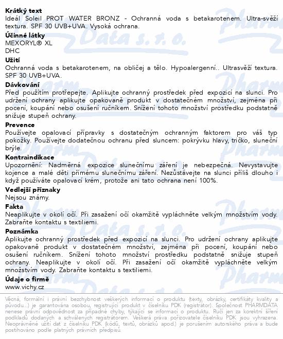 VICHY IDÉAL SOLEIL Sprej s betakarotenem 200ml